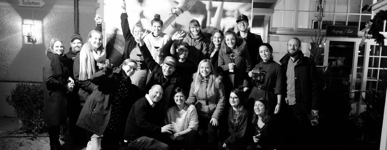 Das gesamte Team der LEO54