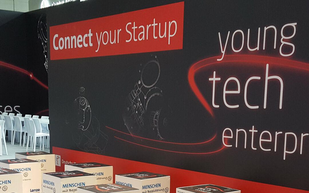 "Startup-Area ""young tech enterprises"" auf der HANNOVER MESSE 2017"