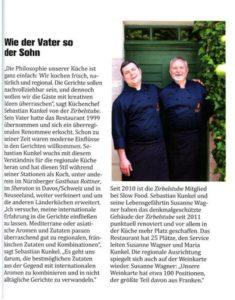 Pressearbeit für ein Nürnberger Restaurant