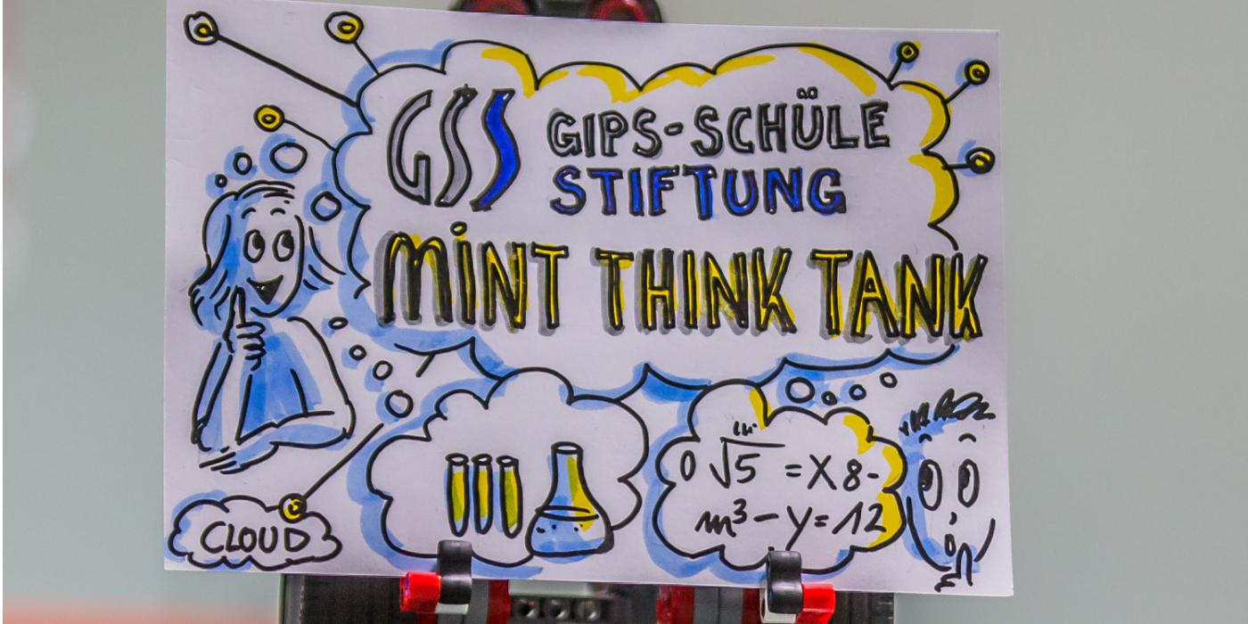 Plakat Gips-Schüle Mint Think Tank 2017