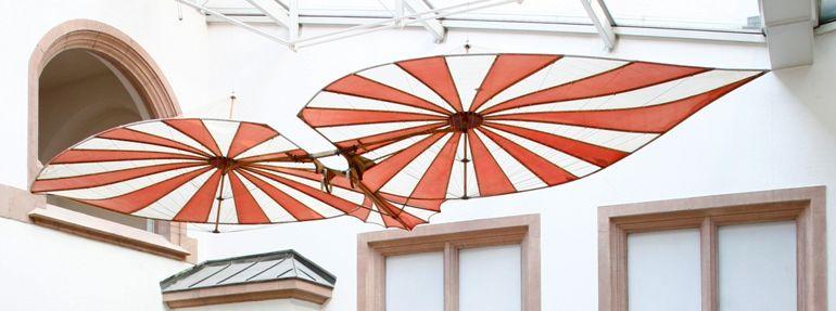 Fluggerät im Rathaus Ulm
