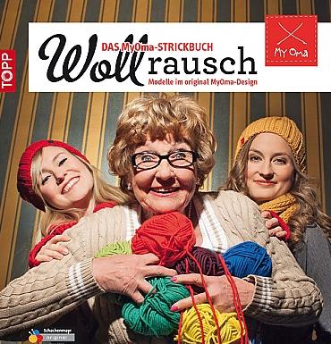 """Das Buch """"Wollrausch"""" von MyOma."""