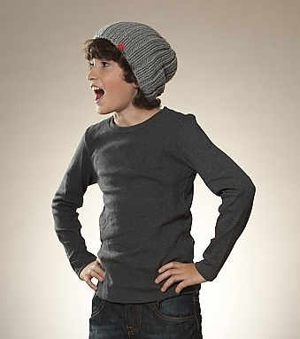 Kind beim Fotoshooting für MyOma