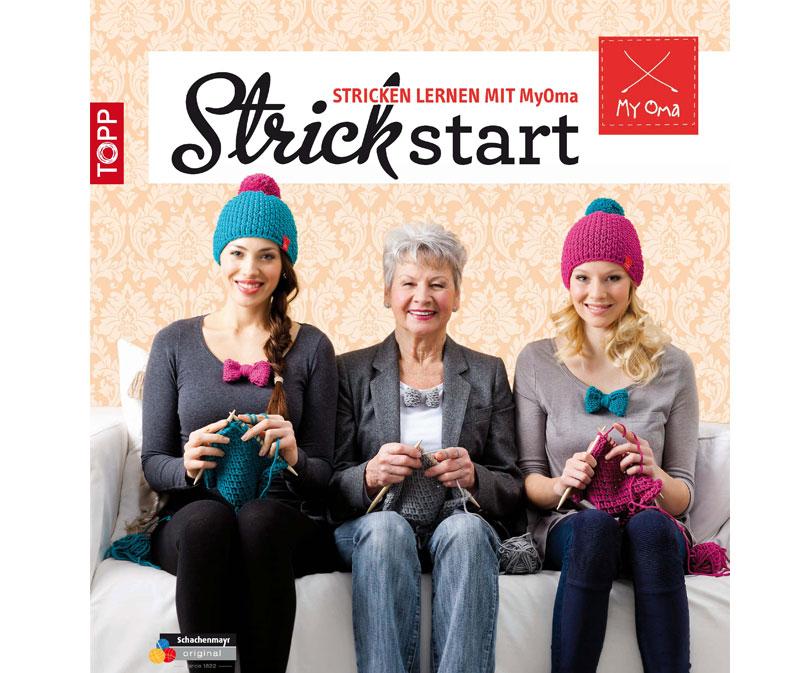 Das MyOma Strickstart-Strickbuch
